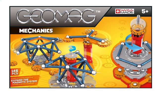 Afbeelding van Geomag Mechanics 146 stukjes from ColliShop