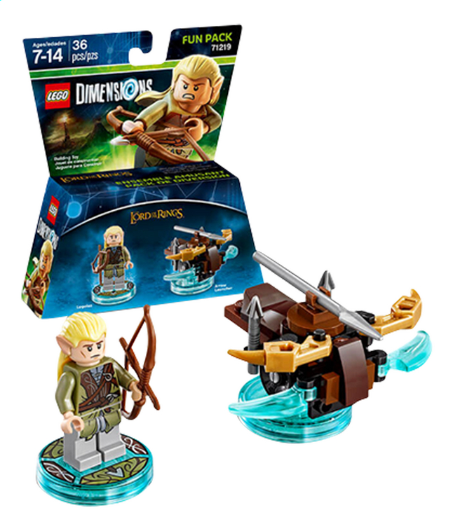 Afbeelding van LEGO Dimensions figuur Fun Pack The Lord of the Rings 71219 Legolas from ColliShop