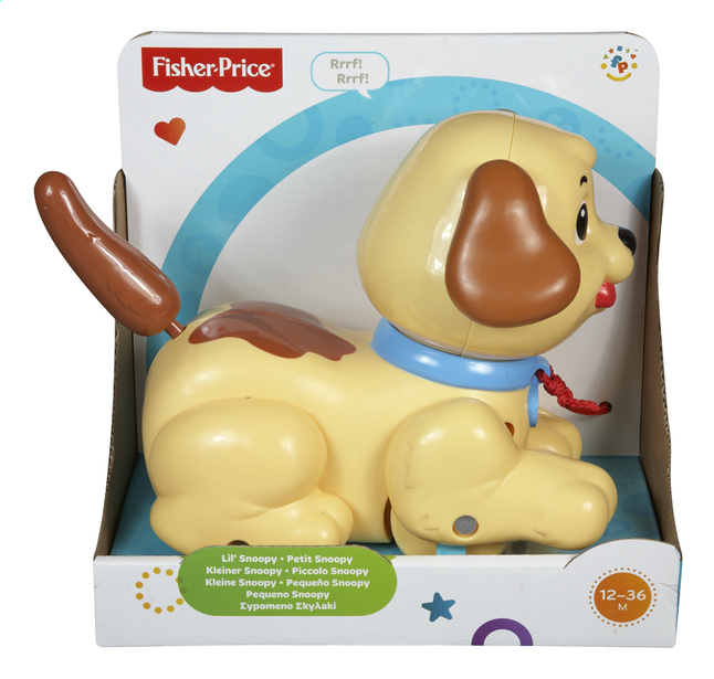Afbeelding van Fisher-Price Kleine Snoopy from ColliShop