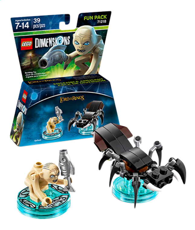 Image pour LEGO Dimensions figurine Fun Pack The Lord of the Rings 71218 Gollum FR/ANG à partir de ColliShop