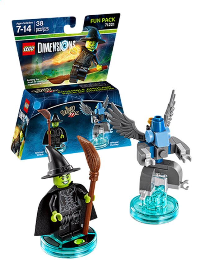 Afbeelding van LEGO Dimensions figuur Fun Pack Movie 71221 Wizard of Oz from ColliShop