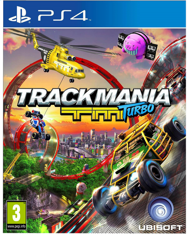 Afbeelding van PS4 Trackmania Turbo ENG/FR from ColliShop