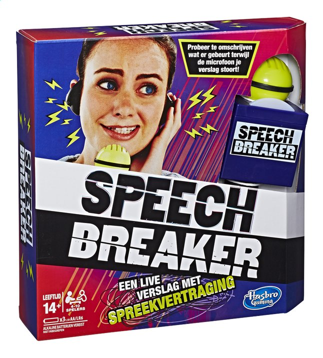 Afbeelding van Speech Breaker from ColliShop