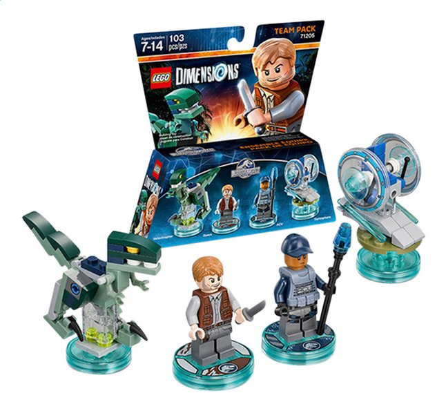 Image pour LEGO Dimensions figurine Team Pack 71205 Jurrasic World à partir de ColliShop