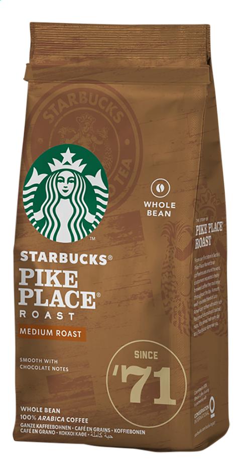 Starbucks Koffiebonen pike place roast - 6 pakjes