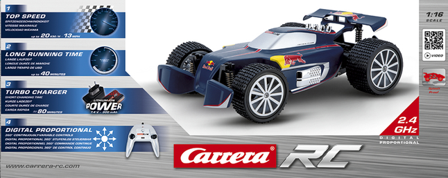Image pour Carrera voiture RC Red Bull NX1 à partir de ColliShop