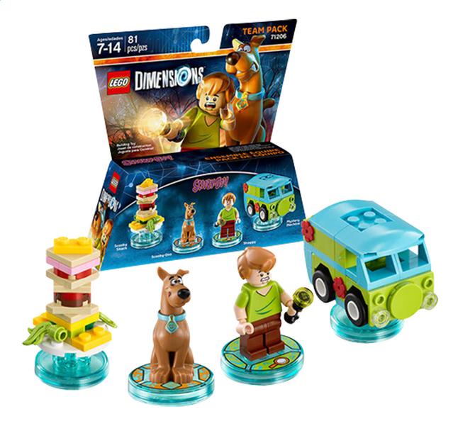 Image pour LEGO Dimensions figurine Team Pack 71206 Scooby-doo à partir de ColliShop