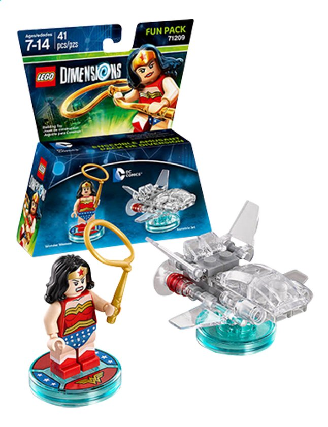 Image pour LEGO Dimensions figurine Fun Pack DC Comics 71209 Wonder Woman à partir de ColliShop