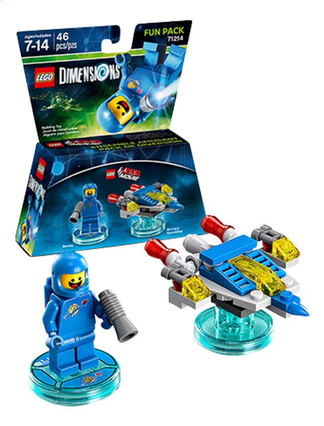 Image pour LEGO Dimensions figurine Fun Pack Movie 71214 Benny à partir de ColliShop