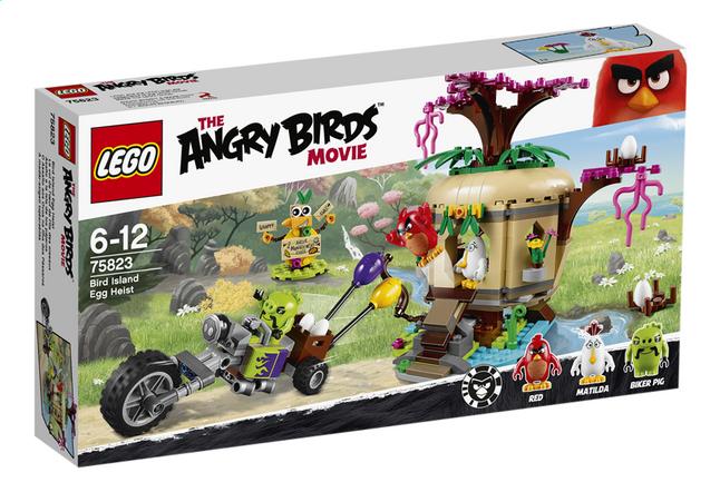 Afbeelding van LEGO Angry Birds 75823 Bird Island Egg Heist from ColliShop