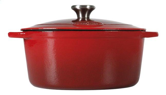 Image pour Sitram cocotte ronde Sitraslow rouge à partir de ColliShop
