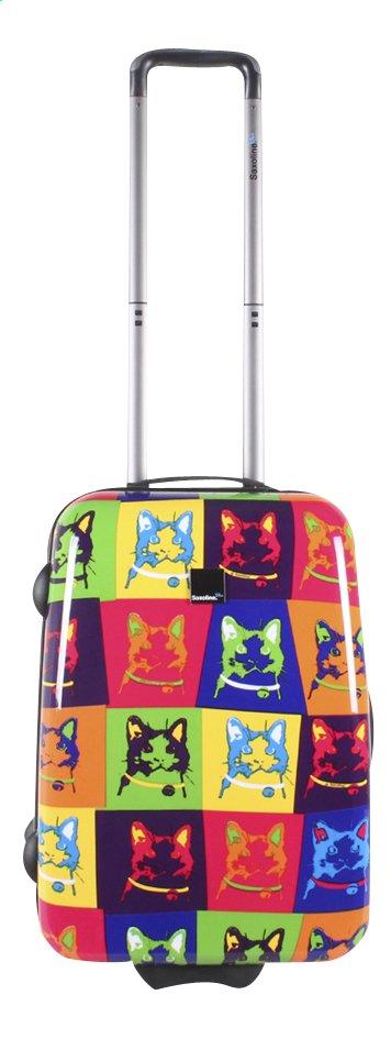 Image pour Saxoline Valise rigide Cats Upright 55 cm à partir de ColliShop