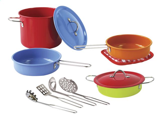 Image pour Set de jeu batterie de cuisine 11 pièces à partir de ColliShop