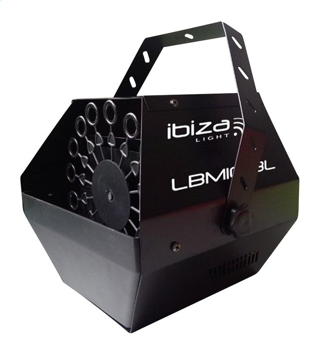 Afbeelding van ibiza draagbare bellenblaasmachine LBM10-BL from ColliShop
