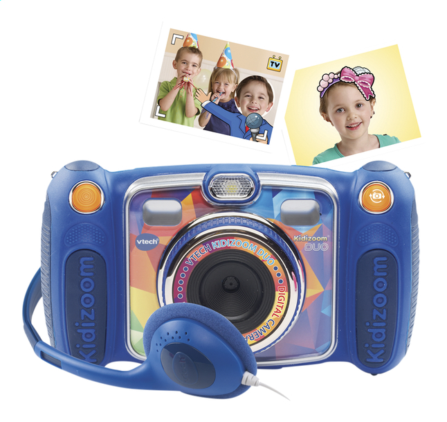 Afbeelding van VTech Kidizoom Duo bleu FR from ColliShop