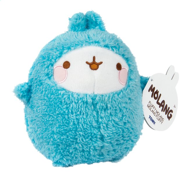 Tomy pluche Molang Fluffy 15 cm