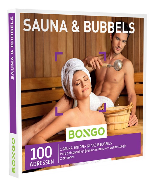 Afbeelding van Bongo cadeaubon Sauna & Bubbels from ColliShop
