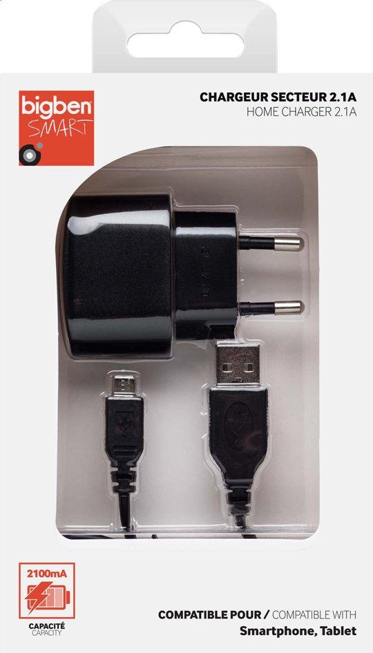 Afbeelding van Bigben lader voor tablets en smartphones zwart from ColliShop