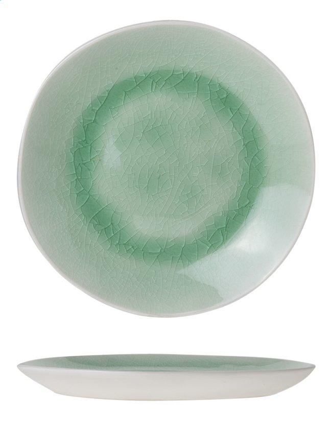 Afbeelding van Cosy & Trendy 6 schoteltjes voor koffiekopjes Spirit Green Ø 15 cm from ColliShop