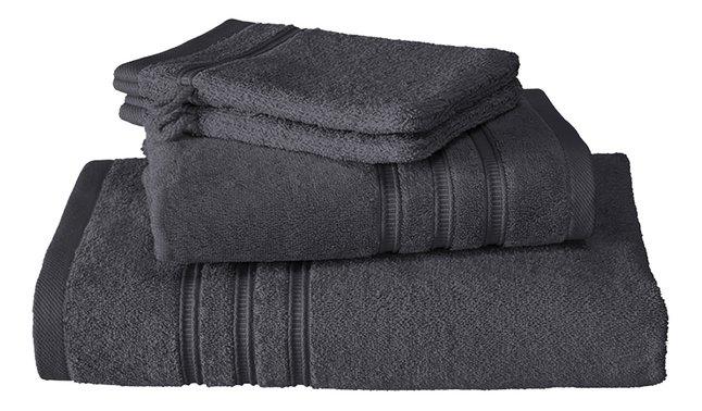 De Witte Lietaer Set de serviettes 4 pièces Dolce dark grey