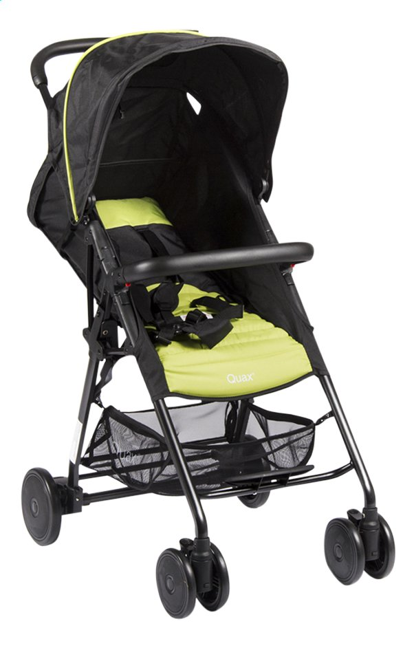 Afbeelding van Quax Buggy Compact XL black/lime from ColliShop