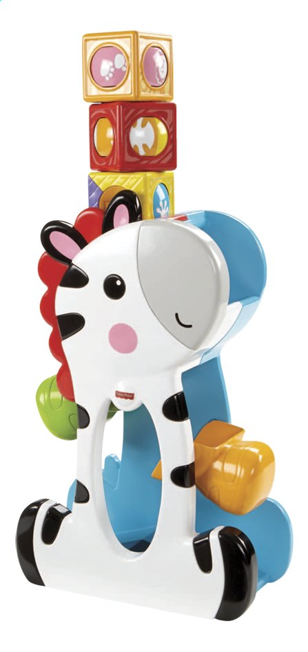 Afbeelding van Fisher-Price Roller Blocks Tumblin' Zebra from ColliShop