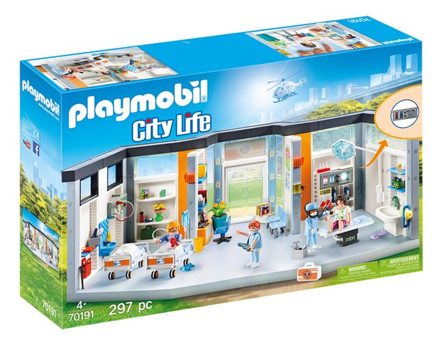 PLAYMOBIL City Life 70191 Hôpital