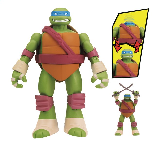 Afbeelding van Figuur Teenage Mutant Ninja Turtles karate Leonardo from ColliShop