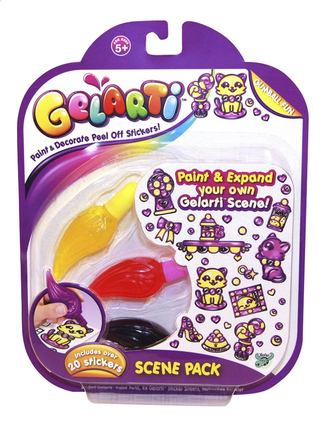Afbeelding van Gelarti navulset Scene Pack Gumball Fun from ColliShop