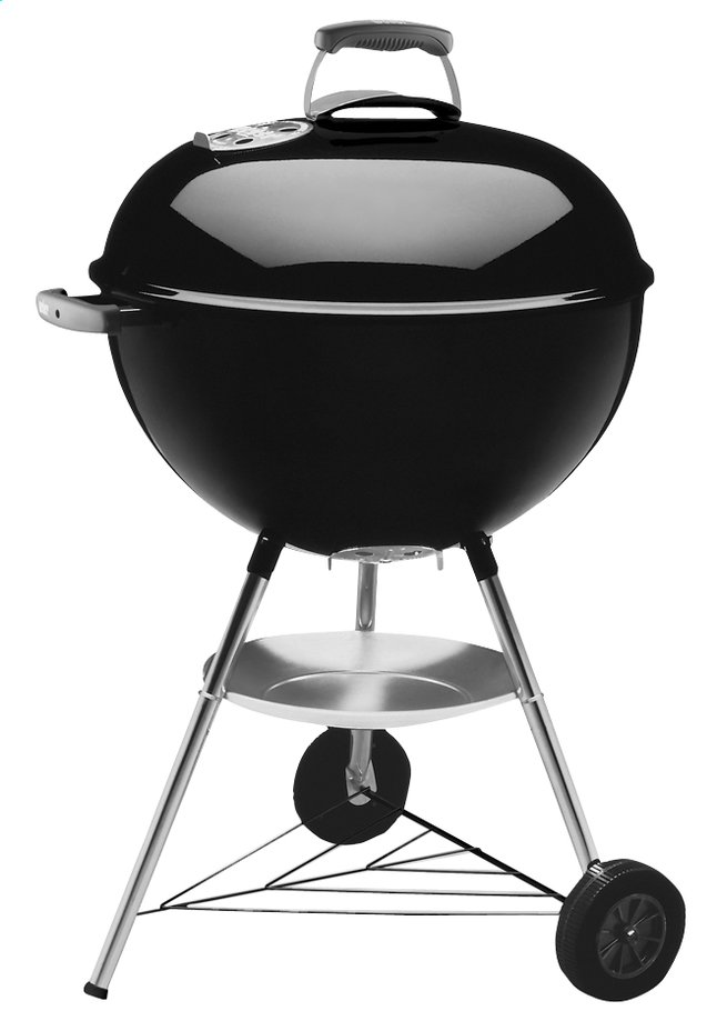 Afbeelding van Weber houtskoolbarbecue Bar-B-Kettle diameter 57 cm black from ColliShop