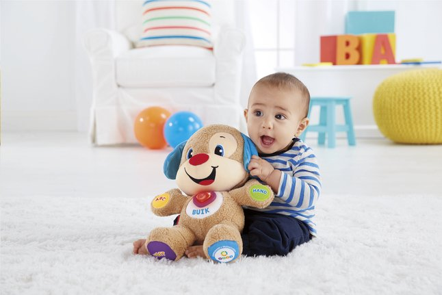 Image pour Fisher-Price interactieve knuffel Laugh and Learn Smart Stages Puppy NL à partir de ColliShop