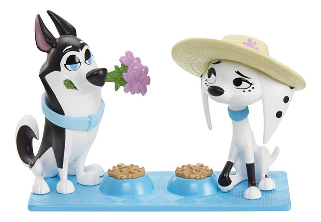Afbeelding van Figuur Disney 101 Dalmatian Street Perfecte picknick - Dolly en Hansel from ColliShop