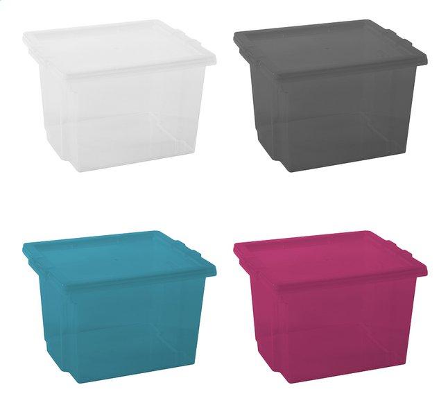 Image pour Iris Boîte de rangement aqua/pink/grey - 4 pièces 10 l à partir de ColliShop