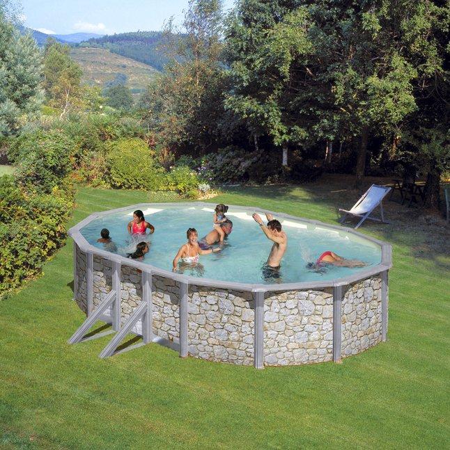 Image pour Gre piscine San Marina Iraklion 6,10 x 3,75 m à partir de ColliShop