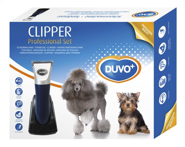 Afbeelding van Duvo+ Hondentondeuse Clipper Professional from ColliShop