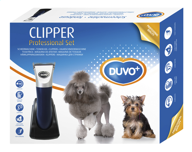 duvo tondeuse pour chien clipper professional collishop. Black Bedroom Furniture Sets. Home Design Ideas