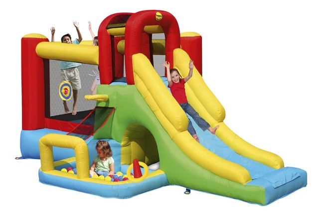 Afbeelding van Happy Hop springkasteel Playcenter 7-in-1 from ColliShop
