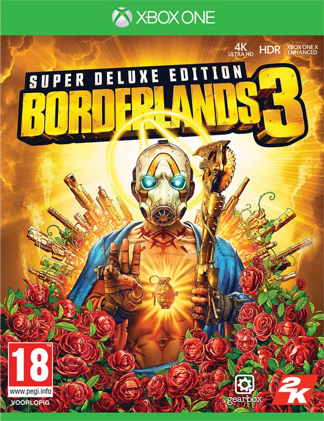 Xbox One Borderlands 3 Édition Super Deluxe FR/NL