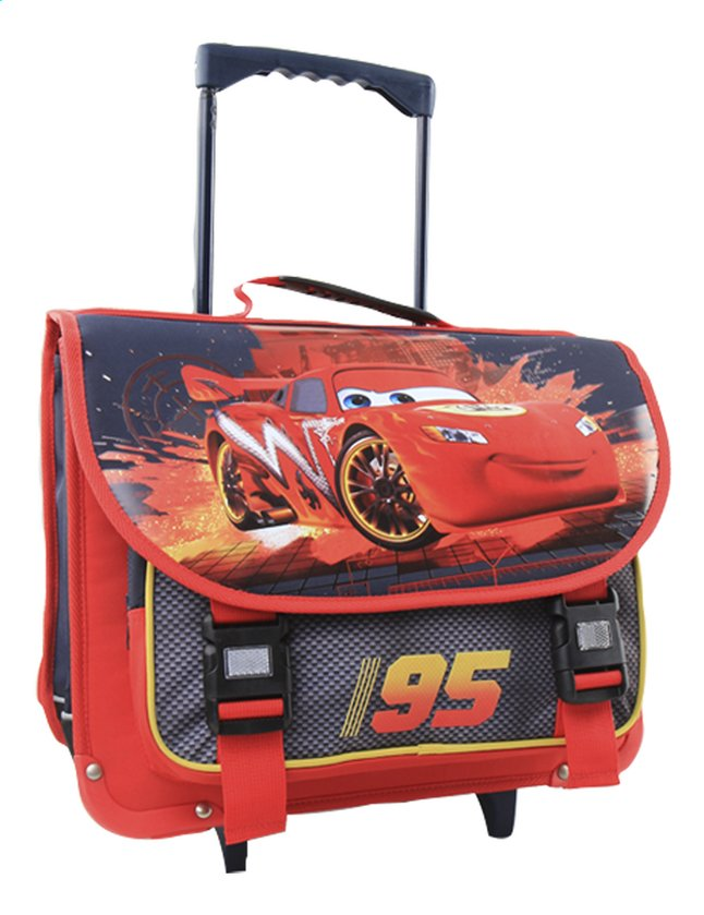 Image pour Cartable à roulettes Disney Cars 41 cm à partir de ColliShop