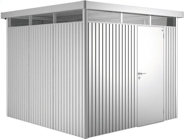 Image pour Biohort abri de jardin avec porte simple Higline gris argenté à partir de ColliShop