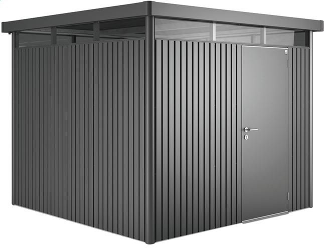 Image pour Biohort Abri de jardin avec porte simple HighLine gris foncé 235 x 275 cm à partir de ColliShop