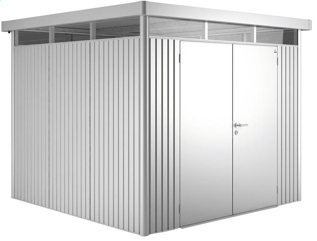 Image pour Biohort abri de jardin avec porte double Higline gris argenté 155 x 275 cm à partir de ColliShop