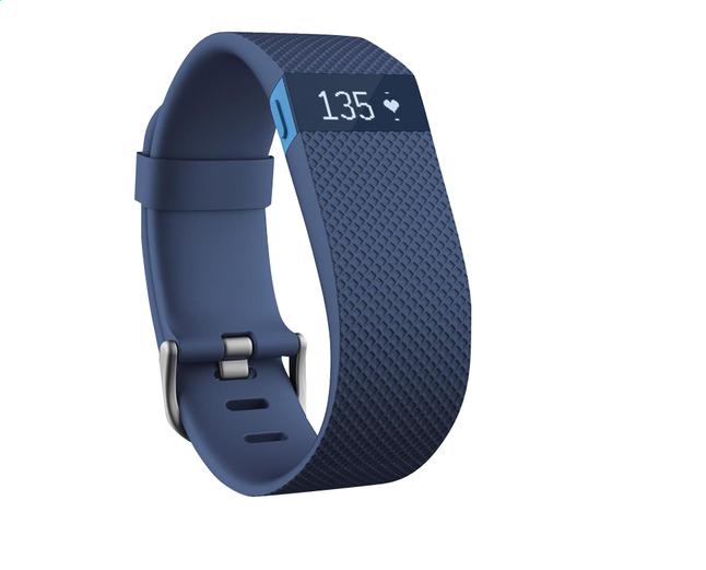 Afbeelding van Fitbit activiteitsmeter Charge HR, maat L blauw from ColliShop