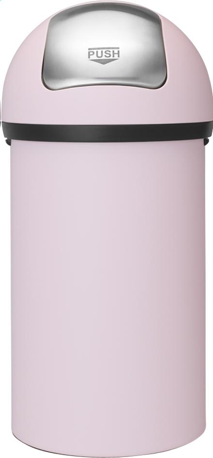 Image pour Brabantia Poubelle Push Bin mineral pink 60 l à partir de ColliShop