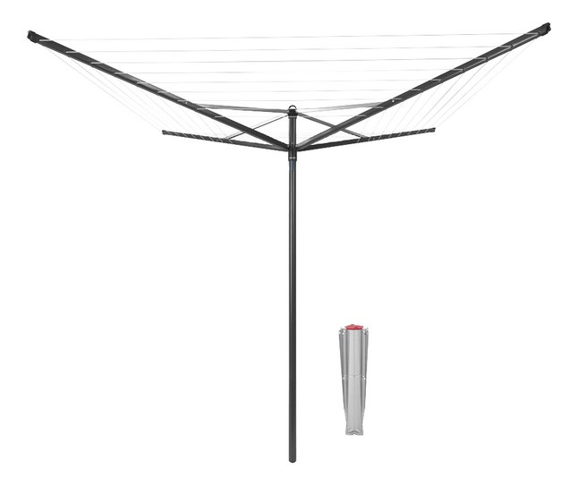 Afbeelding van Brabantia Droogmolen Topspinner 50 m antraciet from ColliShop