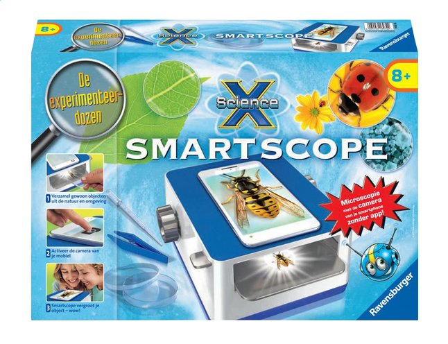 Afbeelding van Ravensburger Science X: Smartscope from ColliShop