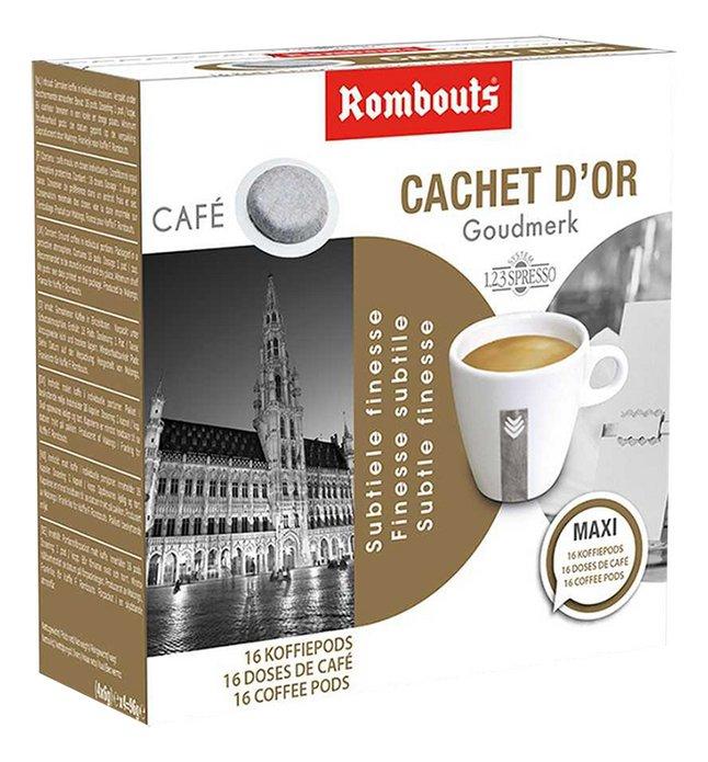 Rombouts Dosettes de café Cachet d'Or - 10 boîtes