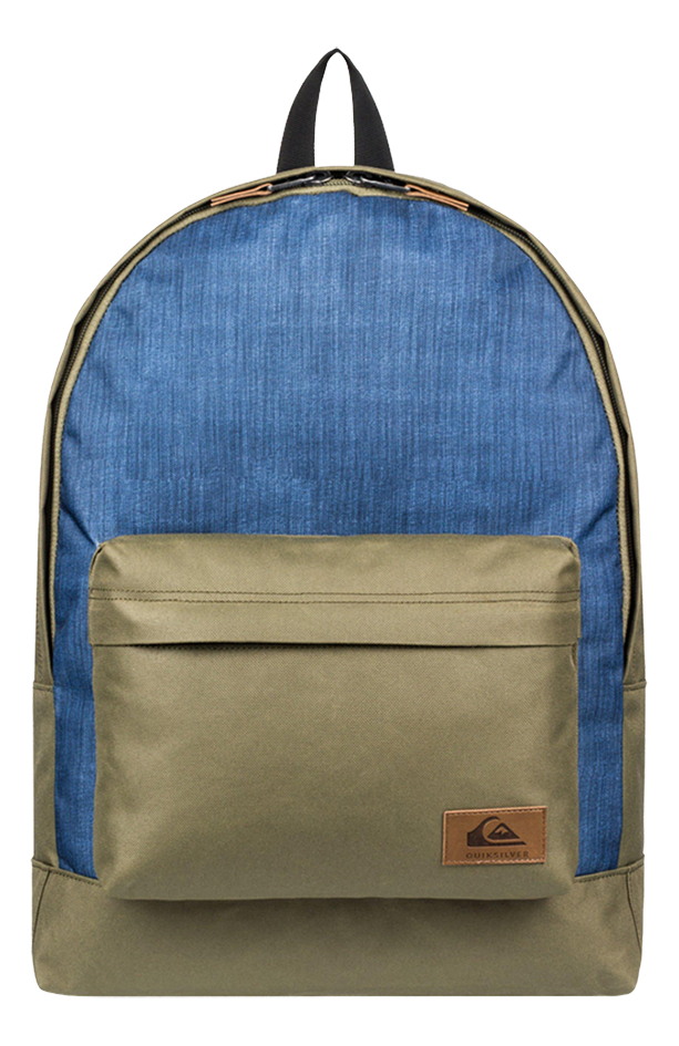 Quiksilver rugzak Everyday Poster Plus Burnt Olive/Blue