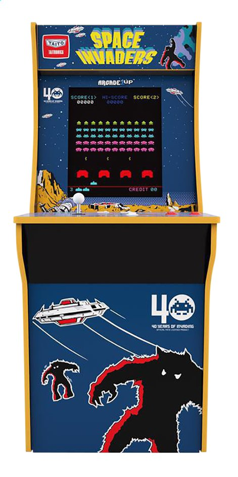 Afbeelding van Arcade1Up console Space Invaders Cabinet from ColliShop