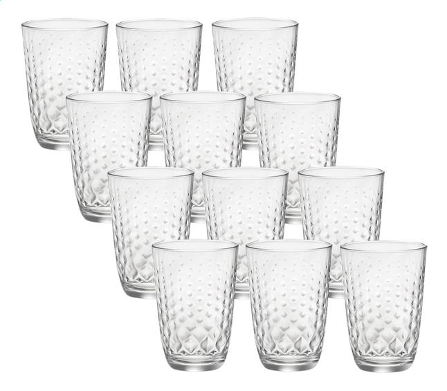 Bormioli Rocco 12 verres long drink Glit 39,5 cl